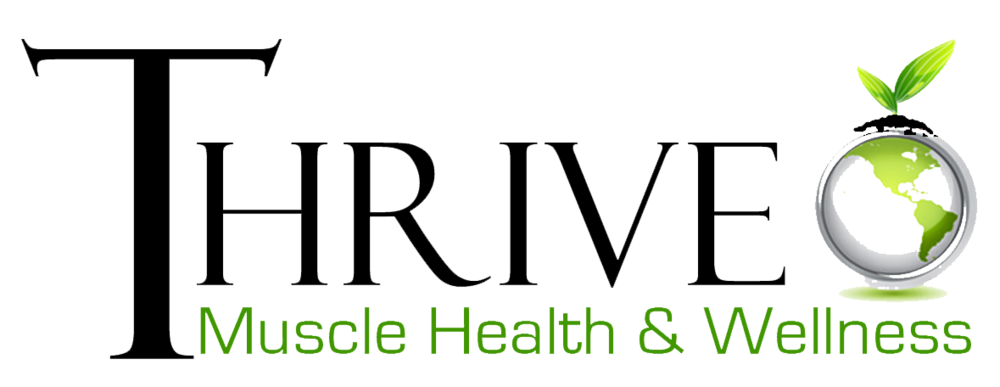 thrive muscle logo