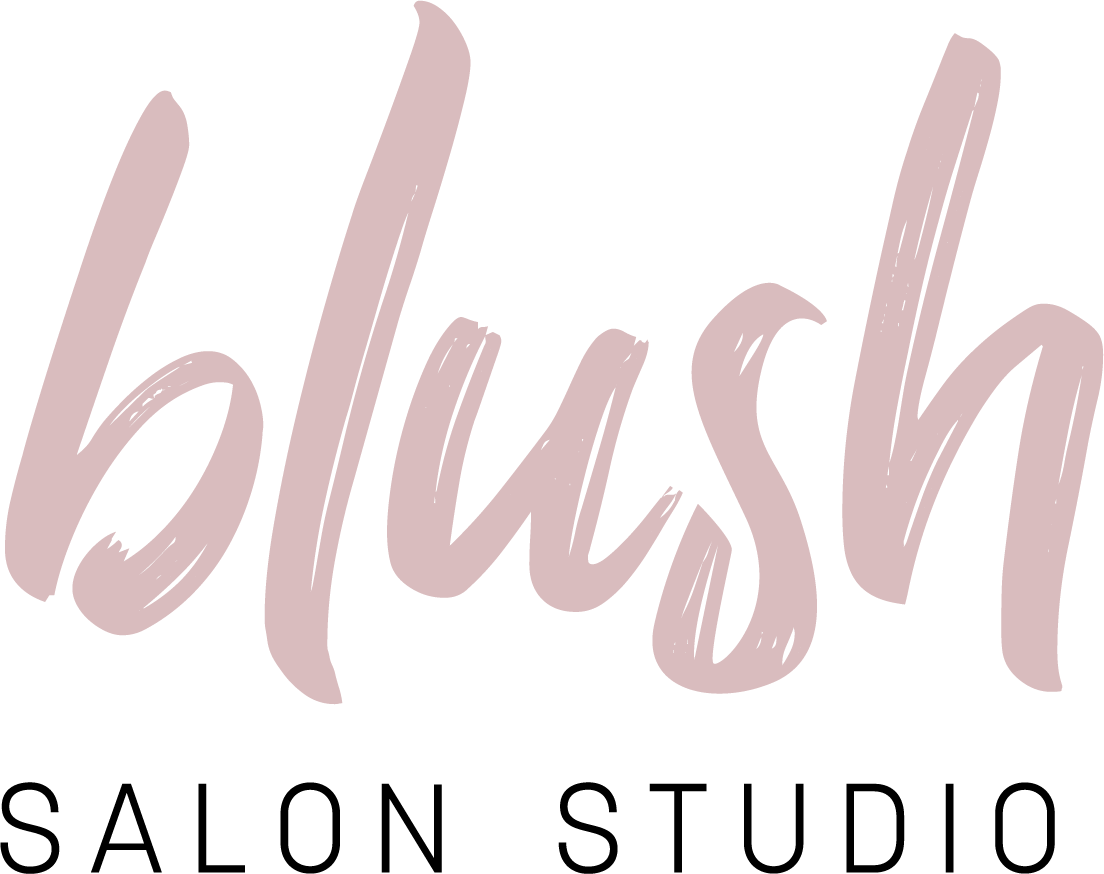 blush salon studio logo